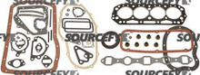 GASKET O/H KIT 10101-L1726 for Komatsu & Allis-chalmers, Nissan, TCM