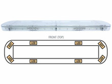 LIGHTBAR (LED/AMBER) 15-00035-E