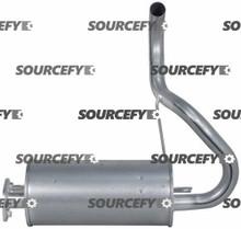 MUFFLER 17510-U2170-71 for Toyota