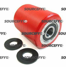 "Atlas Load Roller Assy - 3-1/4"" DiameterTread: Ultra-Poly, Hub: Aluminum AT MC 108-A"