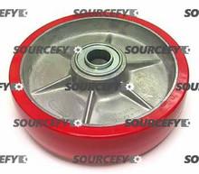 "Blue Giant Steer Wheel Assy - 1"" Bearing IDTread: Ultra-Poly, Hub: Aluminum BG 020-034-A-HD"