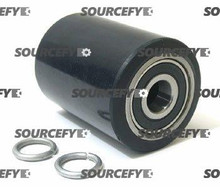 "Blue Giant Load Roller Assy - 2-3/4"" DiameterTread: Ultra-Poly, Hub: Steel BG 300-030-A"
