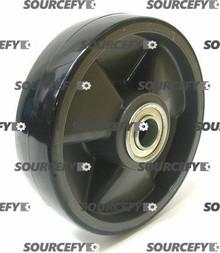 "Blue Giant Steer Wheel Assy - 1"" Bearing IDTread: Poly, Hub: Nylon BG 300-040-A-ST"