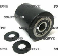 "Bishamon Load Roller Assy - 3-1/4"" DiameterTread: Ultra-Poly, Hub: Steel BI 12061323-A"