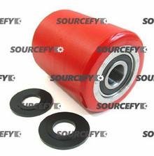 "Bishamon Load Roller Assy - 3-1/4"" DiameterTread: Ultra-Poly, Hub: Aluminum BI 12061323-A-D"