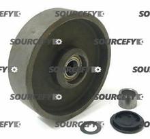 Bishamon Steer Wheel Assy - 20 and 25mm Bearing IDTread: Steel, Hub: Steel BI 12061733-S1