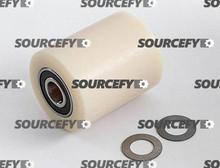 "Boman Load Roller Assy - 3"" DiameterTread: Nylon, Hub: Nylon BO 89-N"