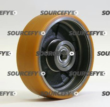 BT Brake Wheel, Poly On Steel, Open Hub BT 156142