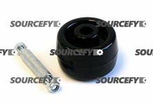MIGHTY LIFT ENTRY ROLLER,  AXLE,  SLEEVE,  NUT ASSEMBLY ML B36A