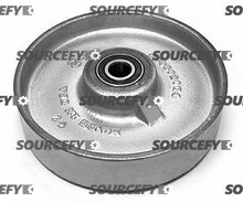 Crown Steer Wheel Assy - 20mm Bearing IDTread: Steel, Hub: Steel CR 41275-3 for Crown