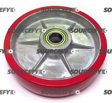 Crown Steer Wheel Assy, 25mm Bearing IDTread: Ultra-Poly, Hub: Aluminum CR 82274-1-HD