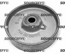 Crown Steer Wheel Assy - 25mm Bearing IDTread: Steel, Hub: Steel CR 82274-3 for Crown