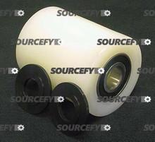 "Eagleman Load Roller Assy - 3"" DiameterTread: Nylon, Hub: Nylon EA A123-C"