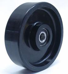 "Eagleman Steer Wheel Assy - 7"" DiameterTread: Ultra-Poly, Hub: Aluminum EA E183-A-HD"