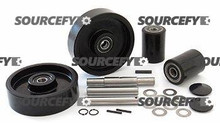 HU-LIFT COMPLETE WHEEL KIT (SINGLE) GWK-HP25L-CK
