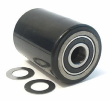"Hu-Lift Load Roller Assy - 2-3/4"" DiameterTread: Ultra-Poly, Hub: Steel HL F117B-A"