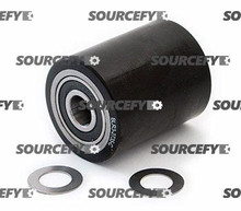 Global Load Roller Assembly (Single) Black Ultra Poly on Steel HL F1511B