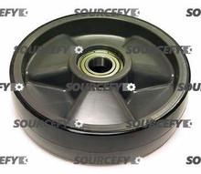 Interthor Steer Wheel Assy - 25mm Bearing IDTread: Poly, Hub: Nylon IN 300047-A