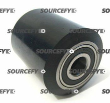 "Interthor Load Roller Assy - 3"" DiameterTread: Ultra-Poly, Hub: Steel IN 300061-A"