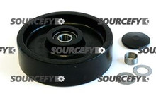 Jet Steer Wheel Assy - 20mm Bearing IDTread: Poly, Hub: Nylon JT 101/210-1-A-ST