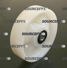 Jet Steer Wheel Assembly, Solid Nylon W/Bearings JT PT2036-3-6-N