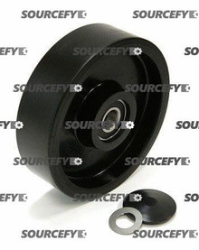 Jet Steer Wheel Assy - 20 and 25mm Bearing IDTread: Poly, Hub: Nylon JT PT2748A-060-ST