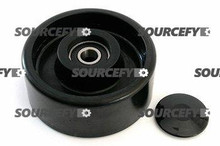 Jet Steer Wheel Assy - 20 and 25mm Bearing IDTread: Poly, Hub: Nylon JT PT2748L-103