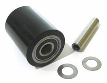 "Lift-Rite (Big Joe) Load Roller Assy - 3"" DiameterTread: Ultra-Poly, Hub: Steel LF 10210-P-A"