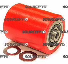 "Lift-Rite (Big Joe) Load Roller Assy - 3"" DiameterTread: Ultra-Poly, Hub: Aluminum LF 10210-P-A-D"