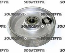 Lift-Rite (Big Joe) Steer Wheel Assy - 25mm Bearing IDTread: Steel, Hub: Steel LF 20236S