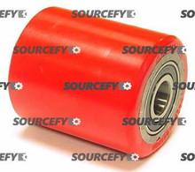 Mobile Load Roller Assy - 20mm Bearing IDTread: Ultra-Poly, Hub: Aluminum MO 120E35-A-D