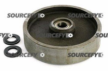 Multiton Steer Wheel Assy - 25mm Bearing IDTread: Steel, Hub: Steel MU 800-S