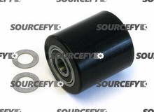 "Pramac Load Roller Assy - 3"" DiameterTread: Ultra-Poly, Hub: Steel PC S0002010328"