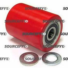 "PALLETMASTER LOAD ROLLER ASSY - 3/4"" BEARING IDTREAD: ULTRA-POLY,  HUB: STEEL PM 01.05-A"