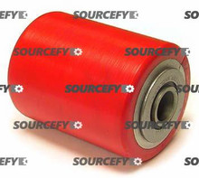 "PALLETMASTER LOAD ROLLER ASSY - 3/4"" BEARING ID,  FLANGEDTREAD: ULTRA-POLY,  HUB: ALUMINUM PM 01.05-A-FB"