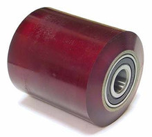 "Prime Mover Load Roller Assy - 3/4"" Bearing IDTread: Ultra-Poly, Hub: Aluminum PR P-13861-A"