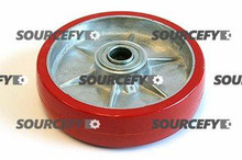 "Prime Mover Steer Wheel Assy - 1"" Bearing IDTread: Ultra-Poly, Hub: Aluminum PR P-13864-A-HD"