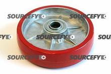 "Prime Mover Steer Wheel Assy - 1"" Bearing IDTread: Ultra-Poly, Hub: Aluminum PR P-13864-A-HD"