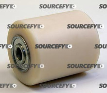 "Pallet Mule (Wesley) Load Roller Assy - 5/8"" Bearing IDTread: Nylon, Hub: Nylon PU B-4-5-N"