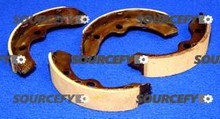 CLUB CAR BRAKE SHOE SET 101823201