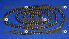 MVP MFG. DRIVE CHAIN, #40 NICKEL 10' 2197469