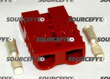 FACTORY CAT CONNECTOR, 50A RED 4-257