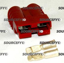 MVP MFG. CONNECTOR, 50A RED 160646