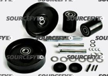 CATERPILLAR/MITSUBISHI COMPLETE WHEEL KIT 7776097