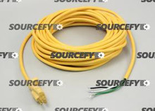 MVP MFG. POWER CORD, 16/3 50' YELLOW 3971985