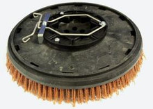 "FACTORY CAT BRUSH, 12"" .065 GRIT W/PLATE 25-421SS"