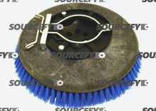 "FACTORY CAT BRUSH, 12"" .060 POLY W/PLATE 25-421P"