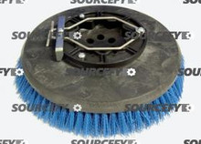 "FACTORY CAT BRUSH, 12"" .030 POLY W/PLATE 13-421P"