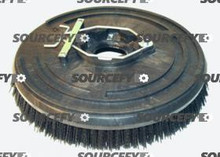 "POWER BRUSH, 14"" GRIT W/PLATE 3313125"
