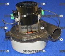 TENNANT-CASTEX NOBLES VAC MOTOR, 120V AC, 2 STAGE 130415AM